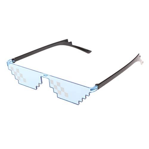 RG-FA Gafas Sol Coloridas Toy Thug Life Glasses Deal