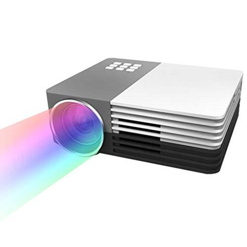 Dafa 1080P Projektor Full-HD-Videoprojektor Leiterkorrektur, Kann 20.000 Stunden Batterie Verwenden, Kann Extern Von 5V 2A Mobile Stromversorgung Für LCD-LED Zu Hause Im Freien Betrieben Werden