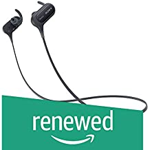 (Renewed) Sony Extra Bass MDR-XB50BS in-Ear Active Sports Wireless Headphones (Black)