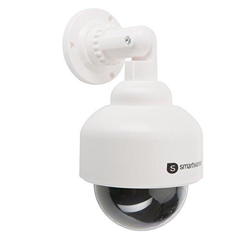 Smartwares CS88D_SW Dummy-Dome Kamera mit Blinkender LED