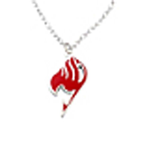 FAIRY TAIL Kette Anime Legierung Halskette Rot Version Cosplay Requisite (Fairy Anime Halskette Tail)