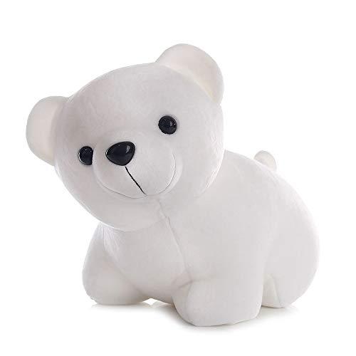 GYZ Plüschtier Eisbär Umarmung Bär Puppe Paar Puppe Puppe Weißer Bär Männliches und weibliches Geburtstagsgeschenk, 25cmx35cm (Size : 25cmx35cm) - Männliche Eisbären