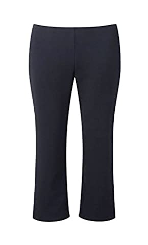 "4D-Uniforms Girls-School Trousers-Fine Ribb-Pull On-Elastic Waist-18Mth-14Yrs, Size:9-10Yrs (32) 24""(61Cm) Waist"