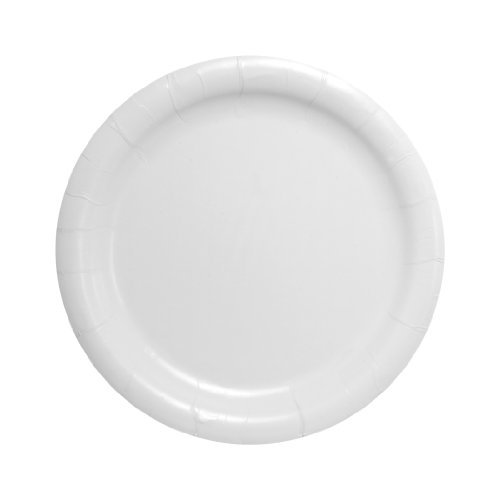 solo-hp9s-2050-bare-eco-forward-heavy-weight-clay-coated-paper-plate-9-diameter-x-19-32-height-white