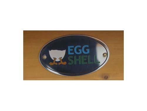 Eggshell Buckingham Hühnerstall mit Laufgehege, 3mm Maschdraht schützt vor Füchsen, tragbar, geschweißter/beschichteter 3-mm-Draht, mit Nistkasten, für 4-6 Hühner, Größe XXL, 250 cm -