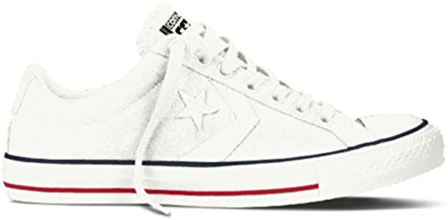 Converse Unisex Erwachsene Star Player OX White/Navy Low Top
