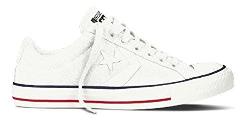 Converse, Star Player Adulte Core Canvas Ox, Sneaker, Unisex - adulto Bianco (White)