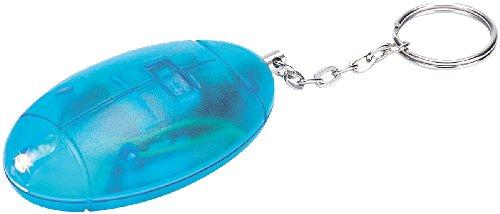 VisorTech Taschenalarm: Personenalarm, Laute 110 db, mit Taschenlampe (Personenalarm Schlüsselanhänger) -