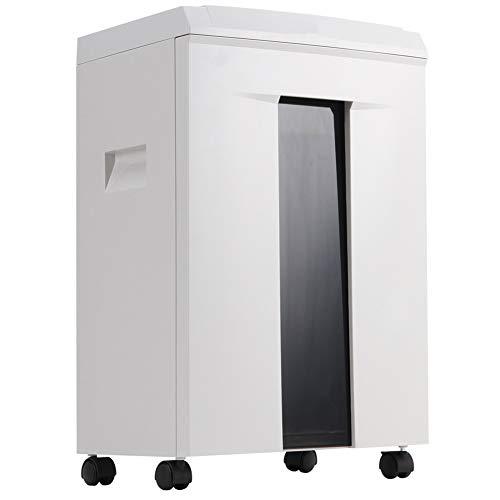 Aktenvernichter Intelligente Elektro Mute effiziente Wärmeableitung, Zerrissenes Papier Lasting 40 Minuten, Zerrissenes Papier Größe 2x12mm,