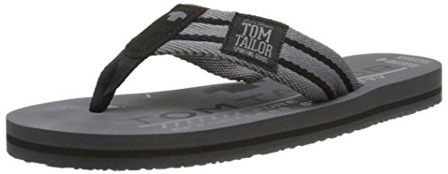 Tom Tailor 9681602, Tongs Homme Gris (Coal)