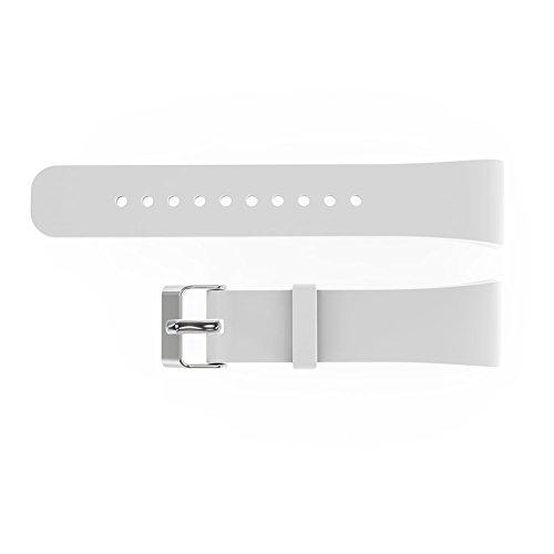 V.one Silikon Sport Armband Band Uhrenarmband Erstatzband mit Stiftschließe aus Edelstahl für Samsung Gear Fit 2 - Große X Uhrenarmbänder S Für Gear