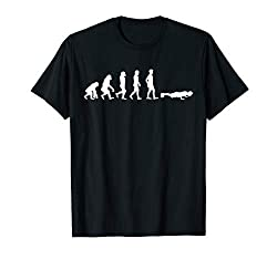 Evolution Push-Up's T-Shirt I Geschenk Liegestütze Workout