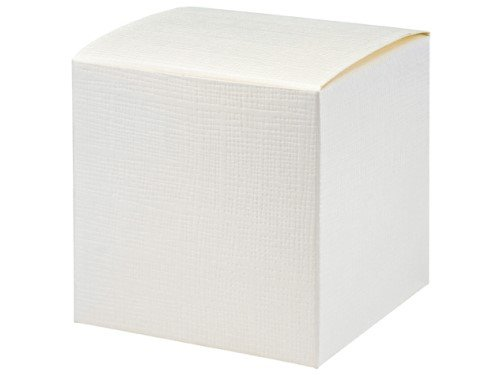 10 Stück Kartonage Würfel Seta weiß, 10 x 10 x 10 cm, Gastgeschenk Geschenkverpackung Hochzeit Weihnachten Taufe