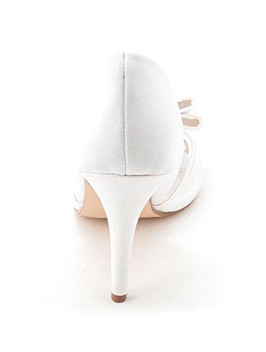 Caparros, Scarpe col tacco donna White Satin