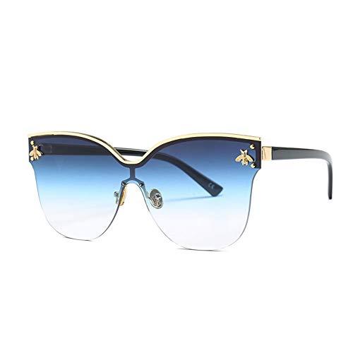 Thirteen Sonnenbrillen Frauen UV Blocking Geeignet Fahren Strand Mode Reisen Metallrahmen,Geeignet Für Dekoration, Sonnenschutz, Einkaufen, Reisen, Fahren. (Color : E)