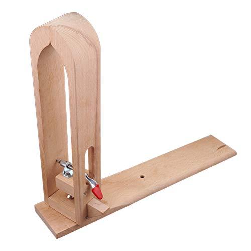 Holz Leathercraft Hand Nähen Leder Halteklammer Handwerk Holz Werkzeuge für DIY Nähen Nähte Schnürung -