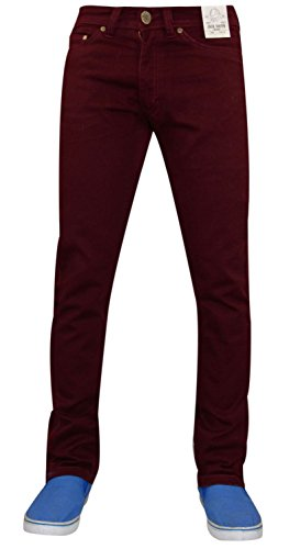 Nuovo da uomo Designer Jacksouth Skinny Fit Jeans elasticizzati in