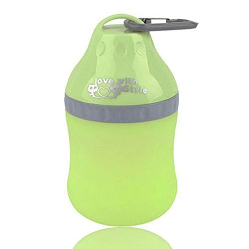 Pyrus Portable, ciotola da viaggio in silicone pieghevole per animali domestici, bollitore, biberon, con moschettone, per cani e gatti