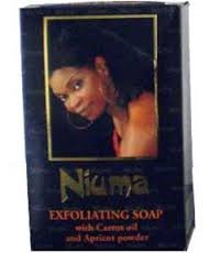 Whitening-apricot (Niuma Exfoliating Soap With Carrot Oil and Apricot Powder 200g by NIUMA)