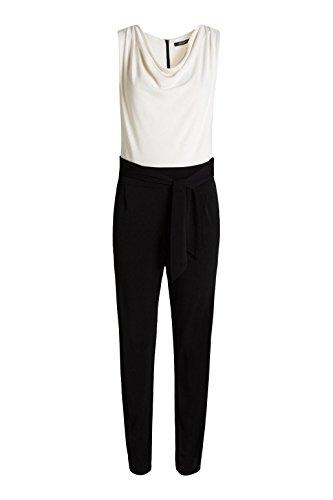 Esprit 026eo1l006 - Stretch - Combinaisons - Droit - Femme Noir - Noir (001)
