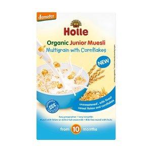 Papilla muesli multicereales maíz +10M Holle, 250