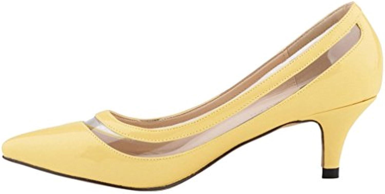 Calaier Donna Cahot 4CM Tacco A Spillo Scivolare su Scarpe col Tacco Calzature   Bella E Affascinante    Uomini/Donne Scarpa