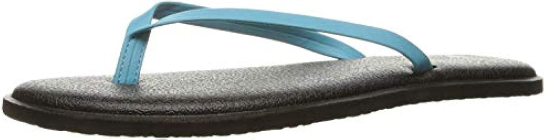 Sanuk Wouomo Yoga Bliss Flip Flop (6 B(M) US   37 EUR, Aqua) | On-line  | Uomini/Donna Scarpa