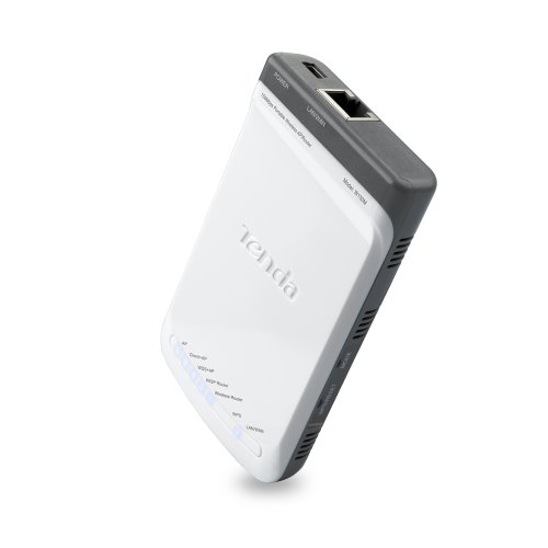 Eine Wpa2-wlan-router (Tenda WLAN Breitband Router N150, tragbar, 150 MBit/Sek. VE = 1)