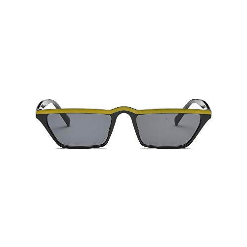 MINGW Fashion Design Women Sun Glasses Flat Top Sunglasses Square Frame Classic Shades Black Red Eyewear