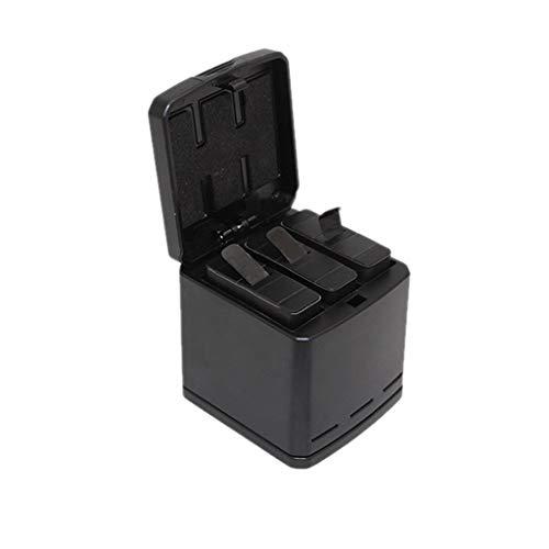 Altsommer GoPro Hero Zubehör Set, USB Akku Ladegerät Ladekabel Ladegerät für Batterien für GoPro Hero 5 Hero 6 Hero 2018 Hero7 Black (Batterien nicht enthalten) GP075 -