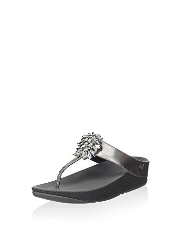 Silber Femme Sandales Fiore 2 Metallico Fitflop x0q8RPw