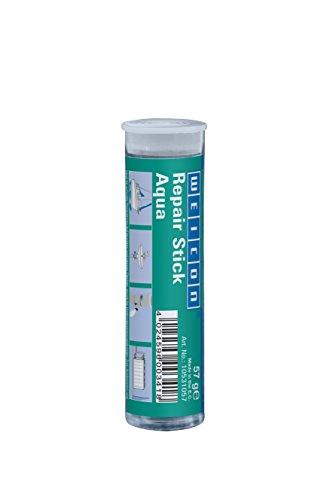 WEICON 10531057 2 Komponenten Spezial Kleber |Epoxidharz | schnelle Reparatur von Heizkörpern, Pool, Maritim-, Unterwasserbereich, Weiß, 57g