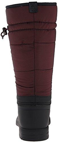 Kamik Newcastle, Bottes en caoutchouc à tige longue femme Rouge - Rot (BURGUNDY-BOURGOGNE)