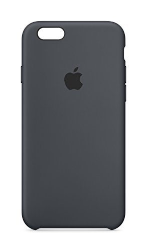 Apple MKY02ZM/A - Carcasa de silicona para iPhone 6S , Gris Carbon