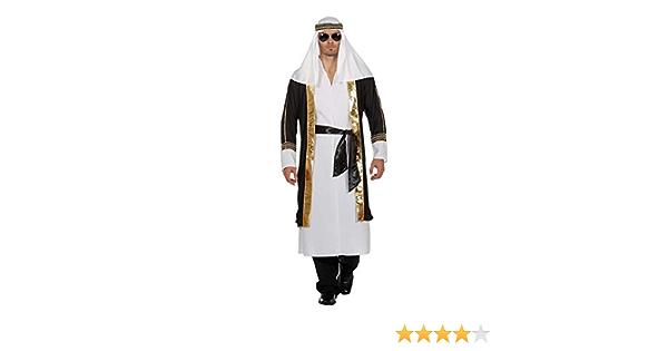 XL Orient Scheichkostüm Scheich Kostüm Orientalisches Herrenkostüm Sultan Araber