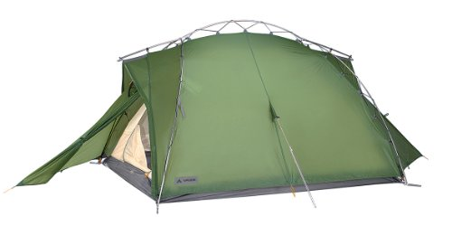 Vaude Zelt Mark UL 3 Personen, green, WS=3.000 mm