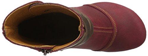 ART Damen Amsterdam Kurzschaft Stiefel Rot (Rioja)