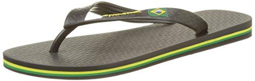 Ipanema Classica Brasil II Ff, Tongs femme Noir (Black)