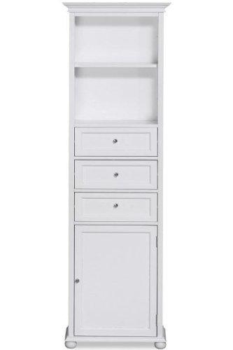 Home Decorators Collection Hampton Bay 55,9cm W Standard Leinen Aufbewahrung Bad Schrank 22