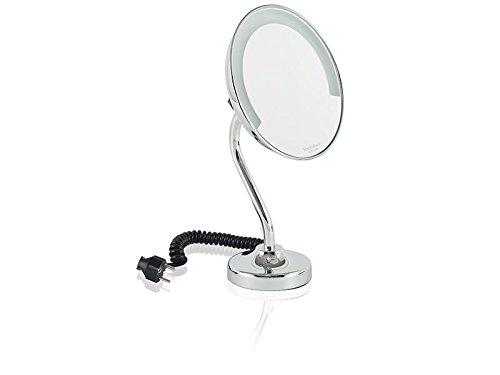 Montalbano – Miroir grossissant à poser Co éclairage