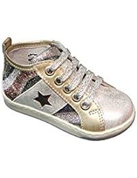 BALOCCHI 476287 19 22 MINI tiffany scarpe bambina lacci glitter 67ed2b96886