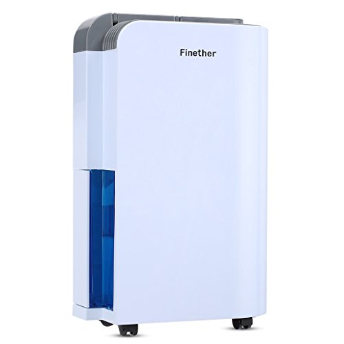 Finether 12L / D Déshumidificateur d'Air Intelligent de...