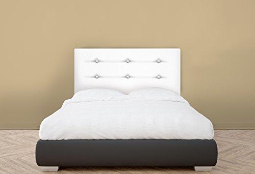 suenoszzz cabecero bruselas cama x cms color blanco