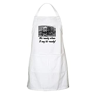 CafePress - Culinary Cowboy BBQ Apron - Kitchen Apron with Pockets