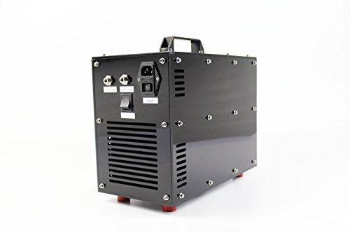 Generador de Ozono Purificador de Aire y Agua 5GM 5,000 mg/h. Nuevo Diseño 2016 de la Alta Calidad con Negro Acrílico Carcasa