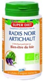 SUPER DIET : Radis Noir et Artichaut Bio gélule