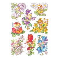 Preisvergleich Produktbild Herma Decorative label DECOR flower elves 3 sheets - dekorative Aufkleber