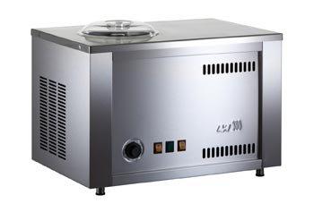 Eismaschine Musso Fiume Giardino - Eismaschine aus Edelstahl mit Kompressor - Made in Italy