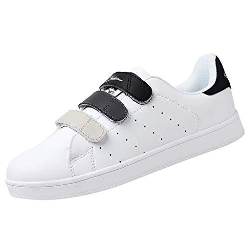 MDenker-Stiefel Herren Outdoor Paar LäSsige Schuhe Haken Runde Zehen Laufen WeißE Schuhe Sneakers Herren Low Sneakers Walking Wandern Trekking Anti-Rutsch Schuhe
