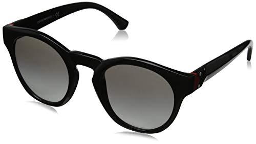 Emporio Armani Damen 0EA4113 Sonnenbrille, Schwarz (Black), 51